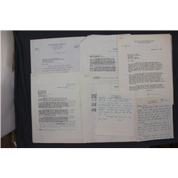 Lot of Letters re: Crowell-Collier etc. incl. Signed James Kerney, John L. Collyer, etc.