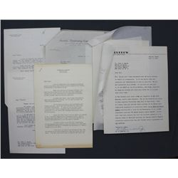 Lot of Letters re: Crowell-Collier etc. incl. Signed R.H. Hillenkoetter, John Charles Daly, etc.
