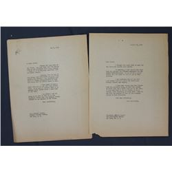 """Philip L. Graham Letter Signed """"Phil"""" as Washington Post Publisher. One page; Sept. 24, 1956"""