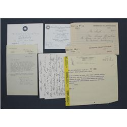Lot of Memorabilia From Estate of Paul C. Smith, Chief Editor of the San Francisco Chronicle