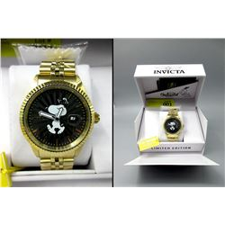 New in Box Invicta Limited Edition Snoopy Watch