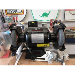 New 1/2hp Six Inch Bench Grinder