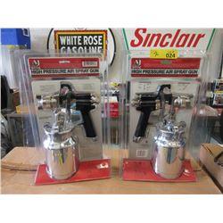 2 New High Pressure Air Spray Guns