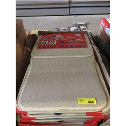 6 New Beige Auto Floormats