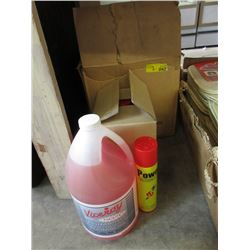 RV Plumbing Antifreeze & Butane Gas Refill Tins