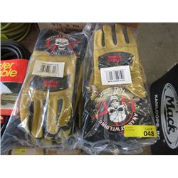 12 New Quality Medium Size Welding Gloves