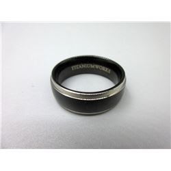 Men's New Titanium Band Ring