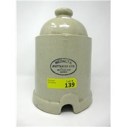 Medalta Potteries Chicken Feeder / Waterer