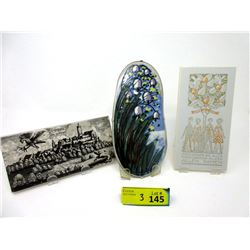 "Arabia Finland Ceramic ""Bell Flower"" & More"