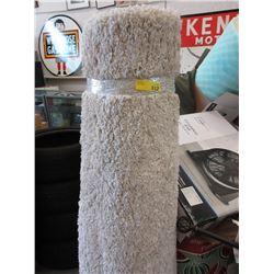 Ivory Shag Carpet
