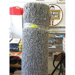 Grey Shag Area Carpet