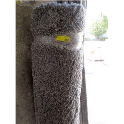 Grey Shag Carpet - Approximately 5 x 7 Feet