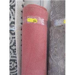 Pink Broadloom Area Carpet