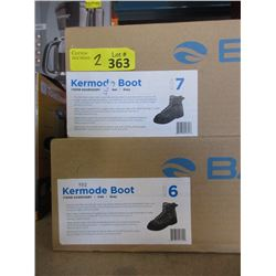 2 Pairs of Kermode Fishing Boots - Size 6 & 7