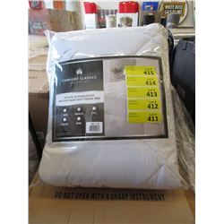 New Twin Size Down Alternative Mattress Pad