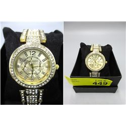 "New Unisex Large Face Kiwiplata Watch - 1.5"" Face"