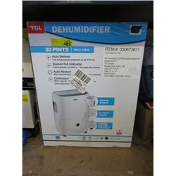TCL 30 Pint Dehumidifier - Store Return