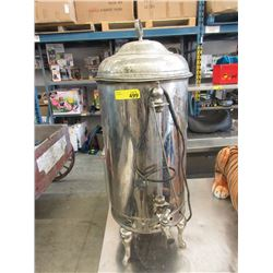 "Vintage 33"" Tall Coffee Urn"