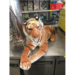 3 Foot Long Stuffed Tiger Toy