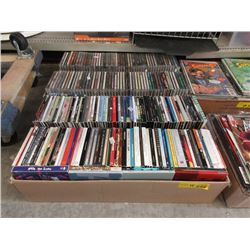 4 Boxes of Approximately 50 Music CDs