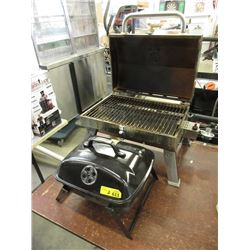 1 Charcoal & 1 Countertop Gas Barbecue