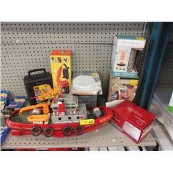 8 Toys, Tools & Household Merchandise