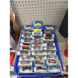 25 New Hot Wheels in Sealed Packages
