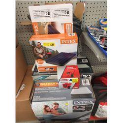 Pump & 4 Inflatable Mattresses - Store Returns