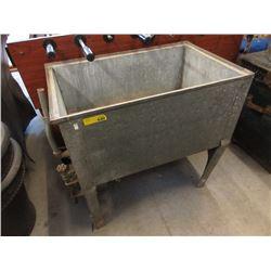 Vintage Galvanized Metal Sink