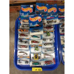25 New Hot Wheels Toys in Sealed Packages