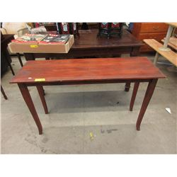 Wood Console/Hall Table