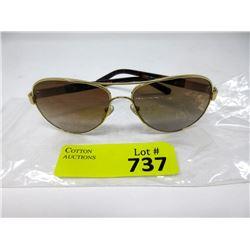 New Tory Burch Aviator Sunglasses