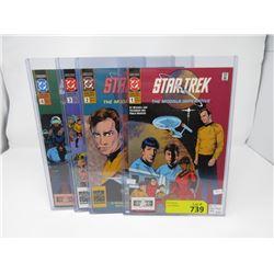 1991 Star Trek Complete 4 Comic Set