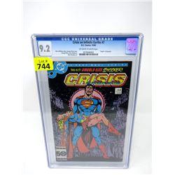 "Graded 1985 ""Crisis on Infinite Earths #7"" DC Comic"