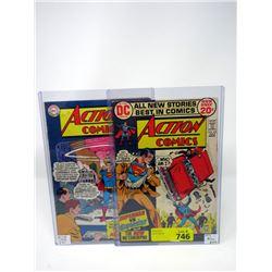 Action Comics # 328 (1965) & #414 (1972)