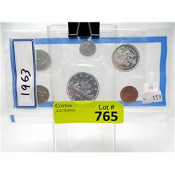 1963 Canadian Uncirculated Proof-Like Coin Set