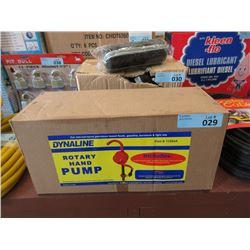 New Dynaline Rotary Hand Pump