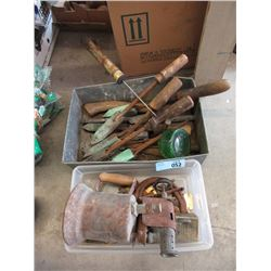Antique Soldering Irons, Blow Torch, Hinges & More