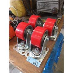 4 Heavy Duty Swivel Casters