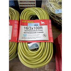 New 100 Foot Extension Cord