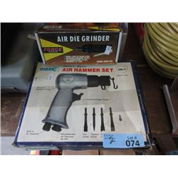 Air Hammer Chisel & Air Die Grinder