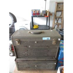 Vintage Double Stack Tool Chest