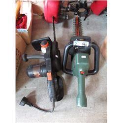 Hedge Trimmer & Chain Saw