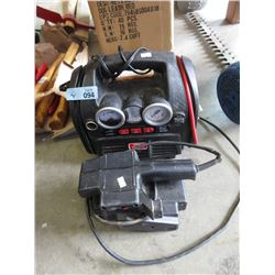Battery Charge Booster & Belt Sander