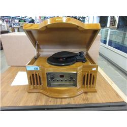 Wood Cased Philco Record / CD Player