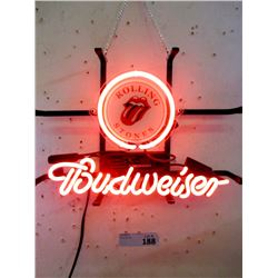 """New Electric Neon """"Budweiser"""" Sign - 10 x 14"""""""