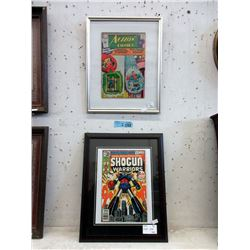 2 Collectable Pressure Framed Comics