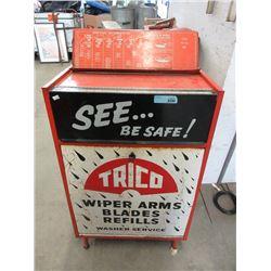 Vintage Trico Rolling Service Cabinet