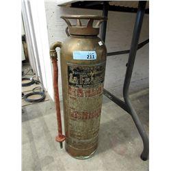 "Vintage Brass ""LaFrance"" Fire Extinguisher"
