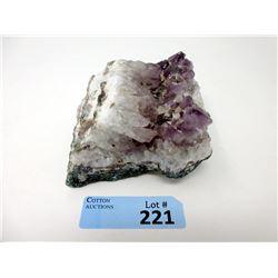 Three Pound Amethyst Crystal Formation